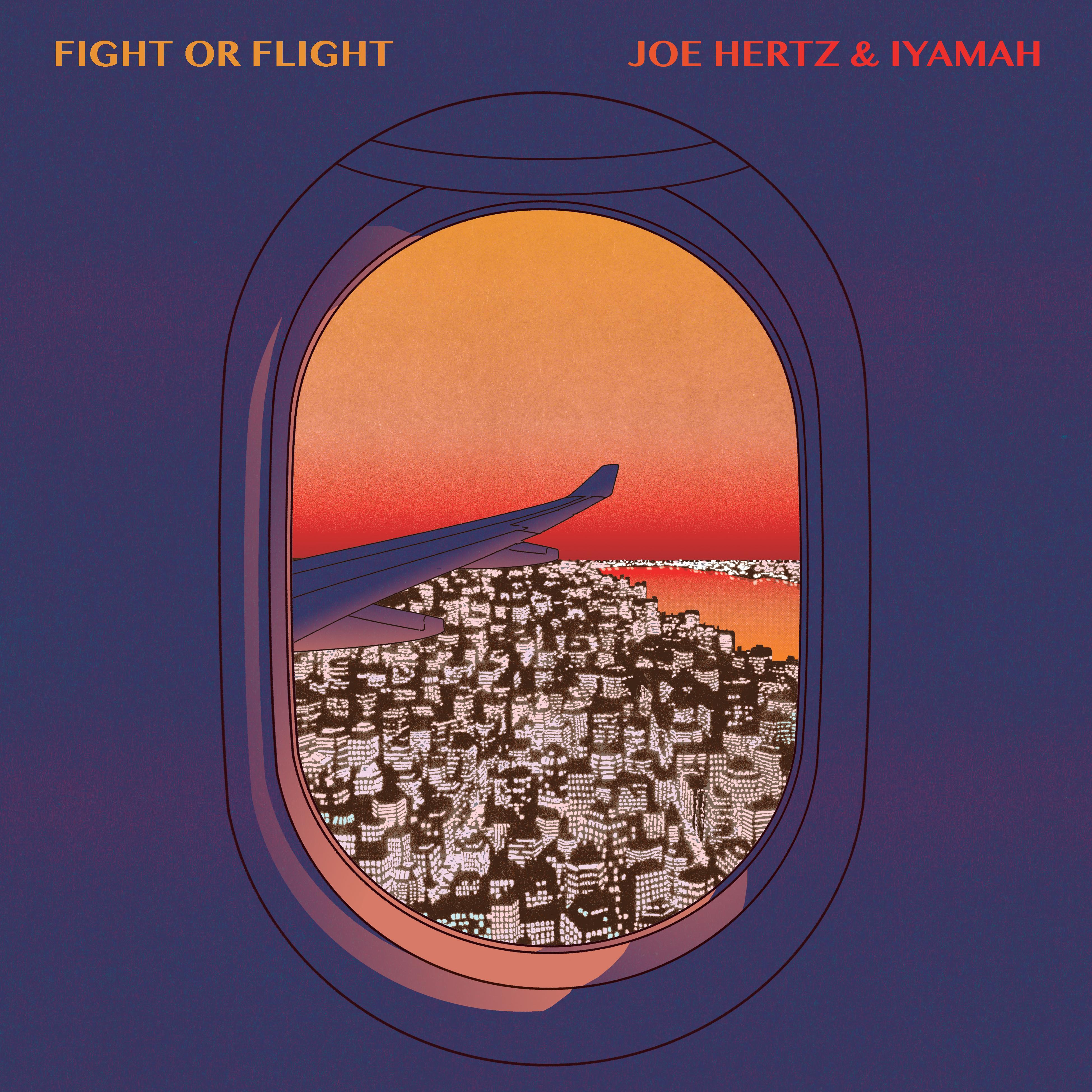 Joe hertz plane city view colour FINAL